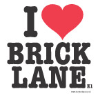 I LOVE BRICK LANE T-SHIRT